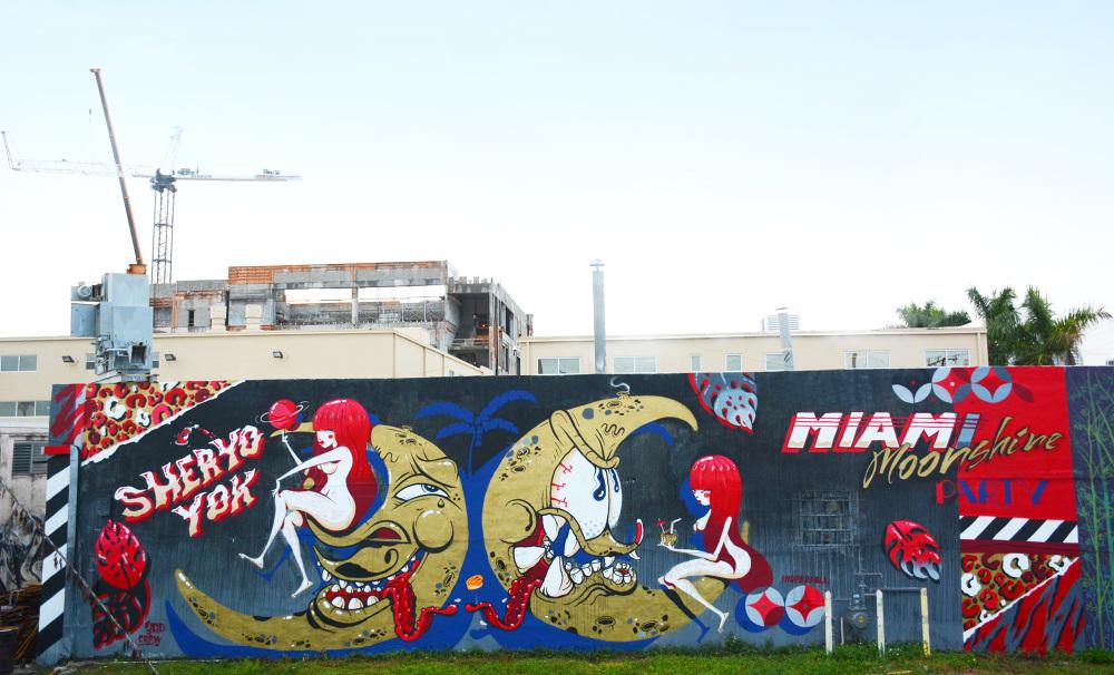 YOK & SHERYO , Wynwood Miami