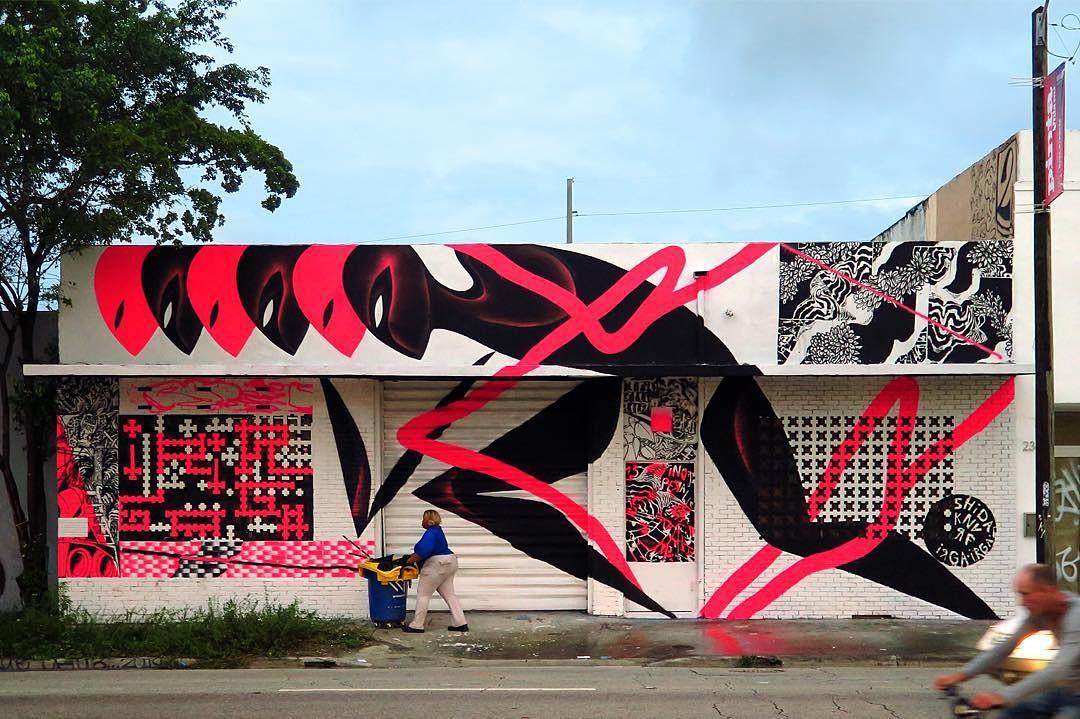 KNARF & SHIDA, Wynwood Miami