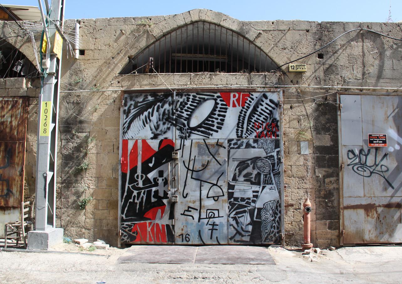 KNARF,  Jaffa Israel  Thank you Austrian Cultural Institute &Yani.