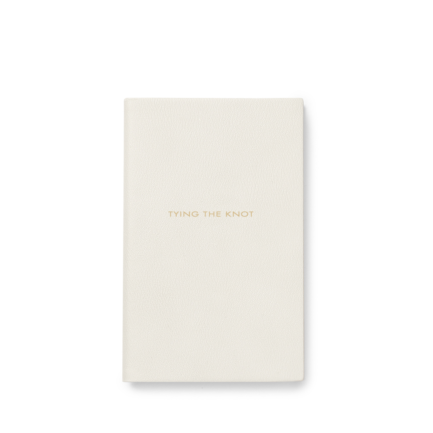 Smythson: 'Tying the Knot' panama notebook