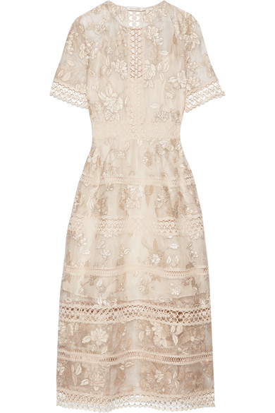 Bridesmaid: Zimmermann silk embroidered dress