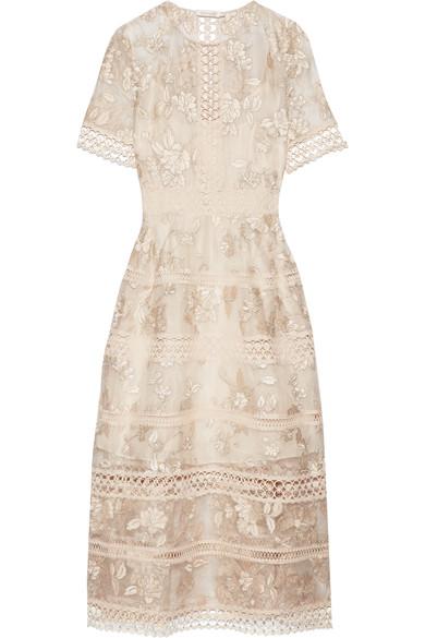 Bridesmaid: Zimmermann silk embroidered dress