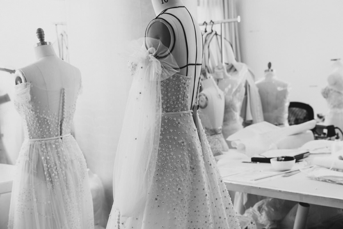 Behind the scenes in the Lee Petra Grebenau Couture House