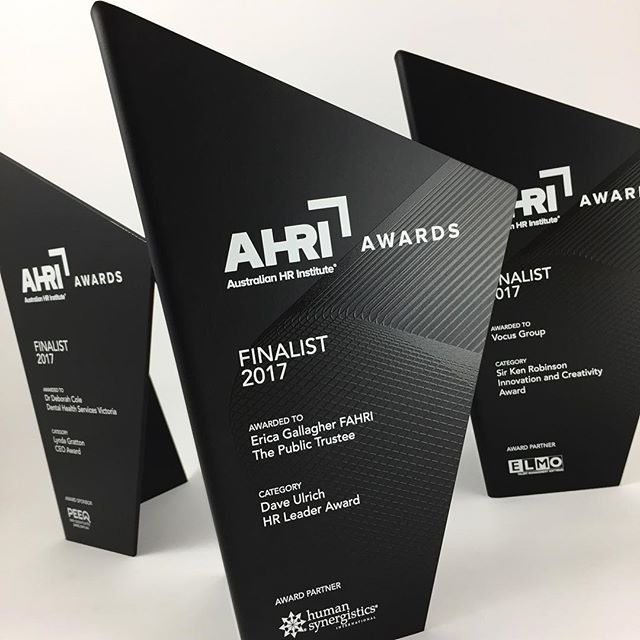 Australian HR Institute 2017. Check our website for further project images and specifications . Link in bio. #artisanedawards #design #trophy #trophies #awards #sculpture #handcrafted #bespoke #event #contemporary #art #ecoawards #modern #melbourne #australia #concept #creation #materials #methods #customised #aluminium  #renewable #corporateawards #ahri #australianhumanresourcesinstitute