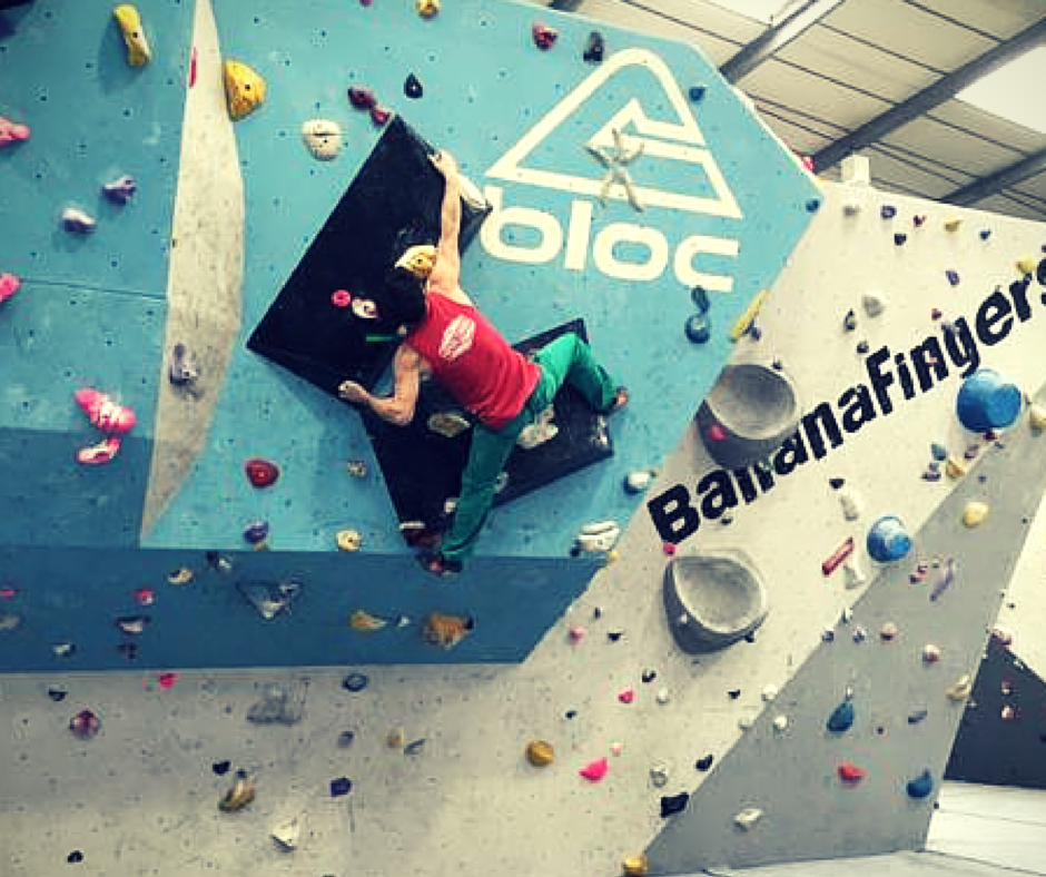 Steve Winslow: women's climbing coach, founder of Bristol Climbing Scene and manager of Bloc Climbing Centre.