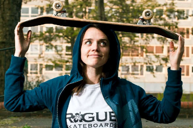 Jenna Selby: founder of Rogue Skateboards, photographer and director of Europe's first female skate film.