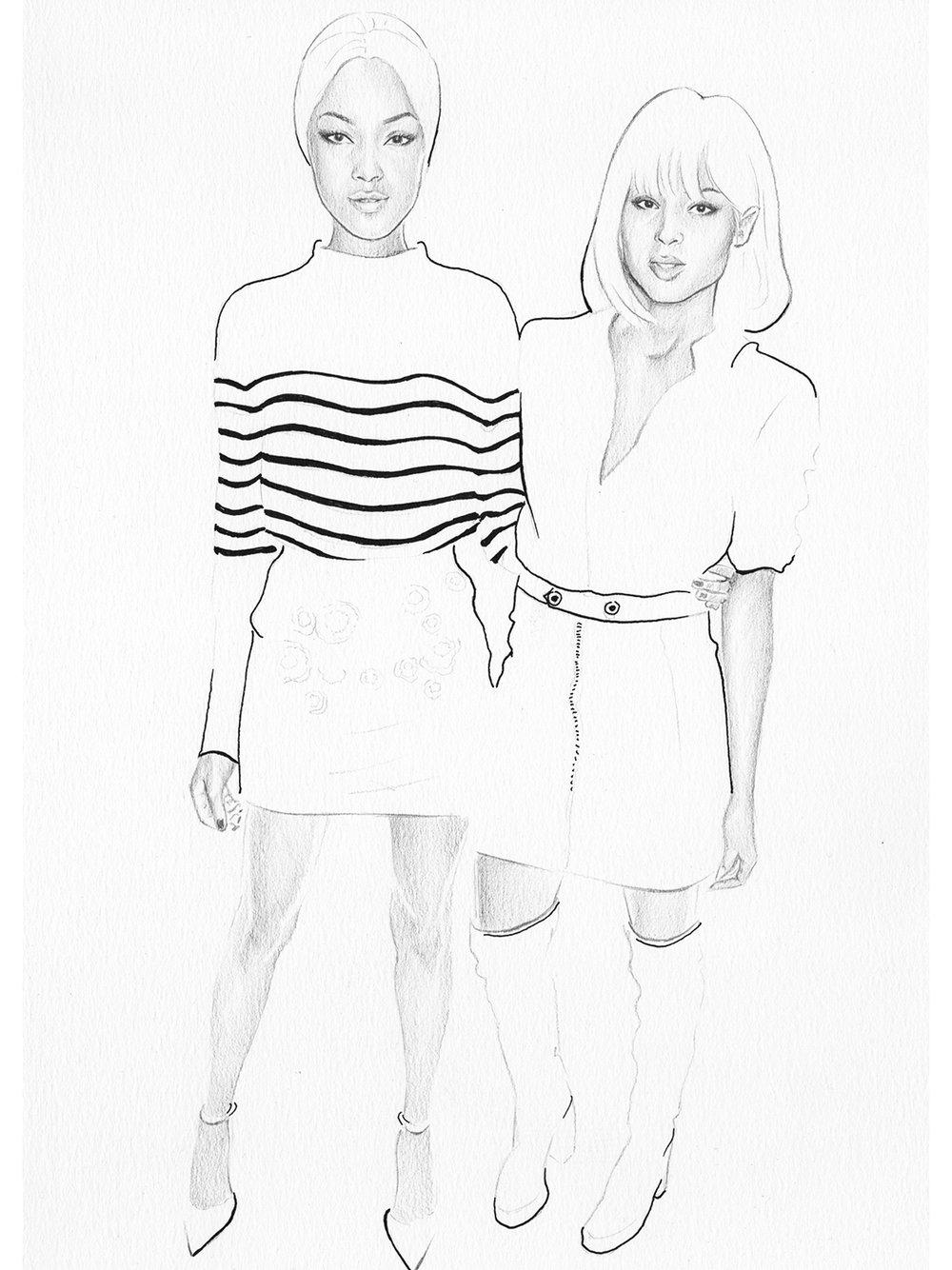 Topshop Frow - Jordan & Ciara