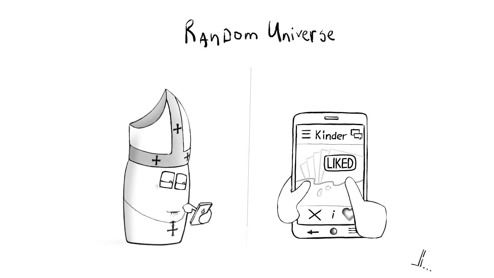 #8 - Random Universe - Kinder