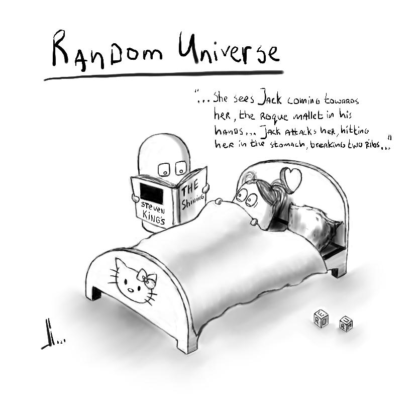 #21 - Random Universe - Shining - jbax - Joris Bax