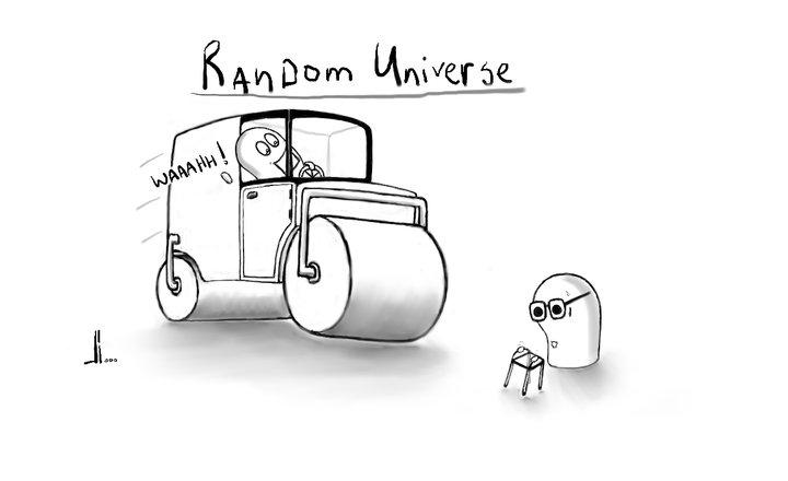 #26 - Random Universe - Steamroller - jbax - Joris Bax
