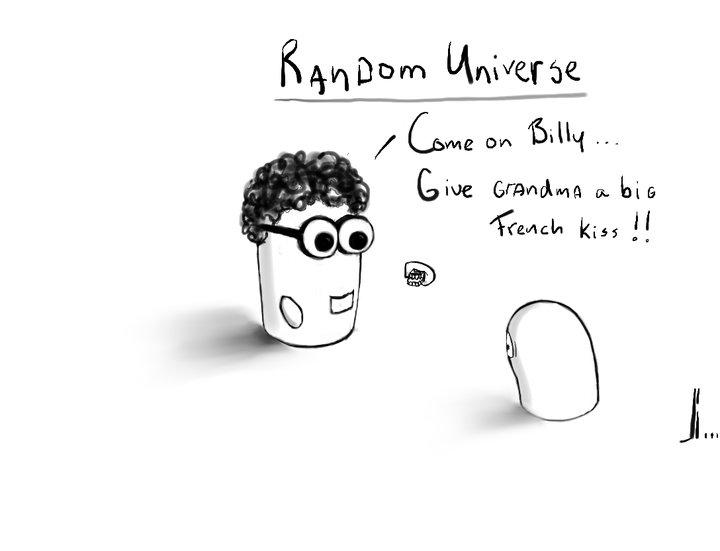 #28 - Random Universe - Grandma - jbax - Joris Bax