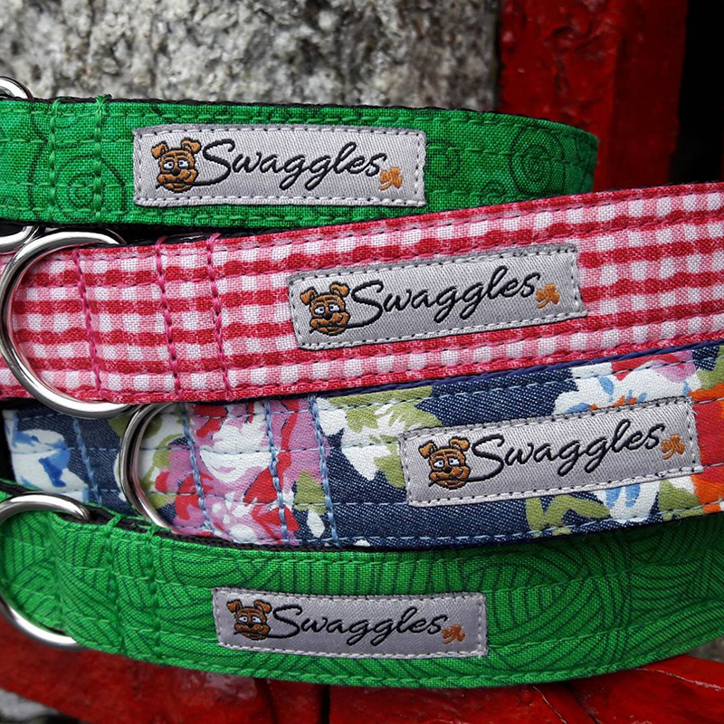 SWAGGLES  was inspired by a love of dogs, art and design, Jenny creates unique products for dog lovers wanting something fun and funky, yet comfortable, practical and durable. All made in Wexford!