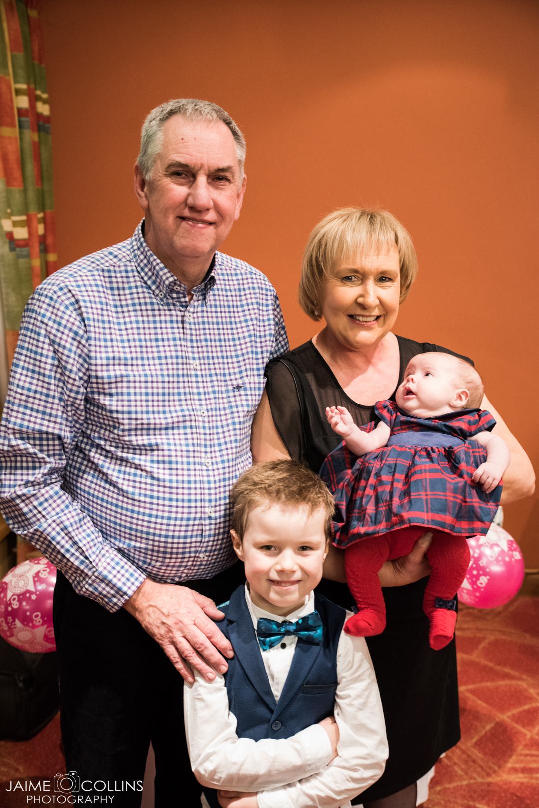 My parents and their Godchildren