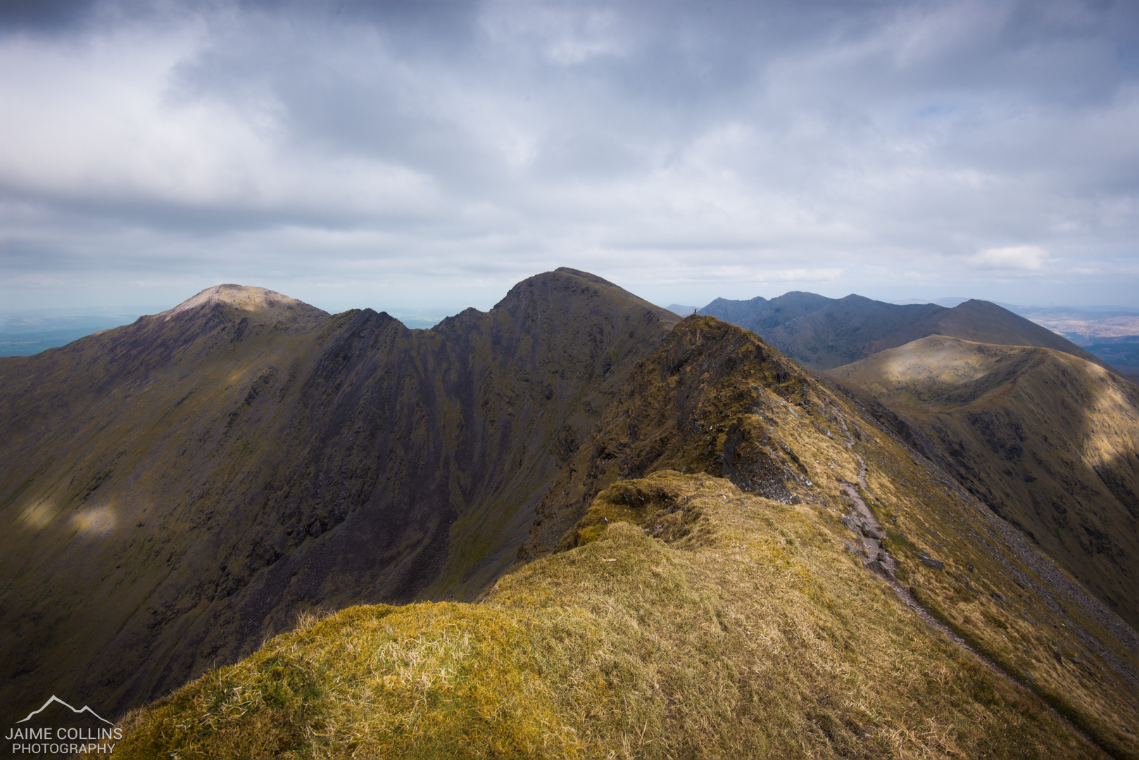 The view from Caher to Carrauntoohil