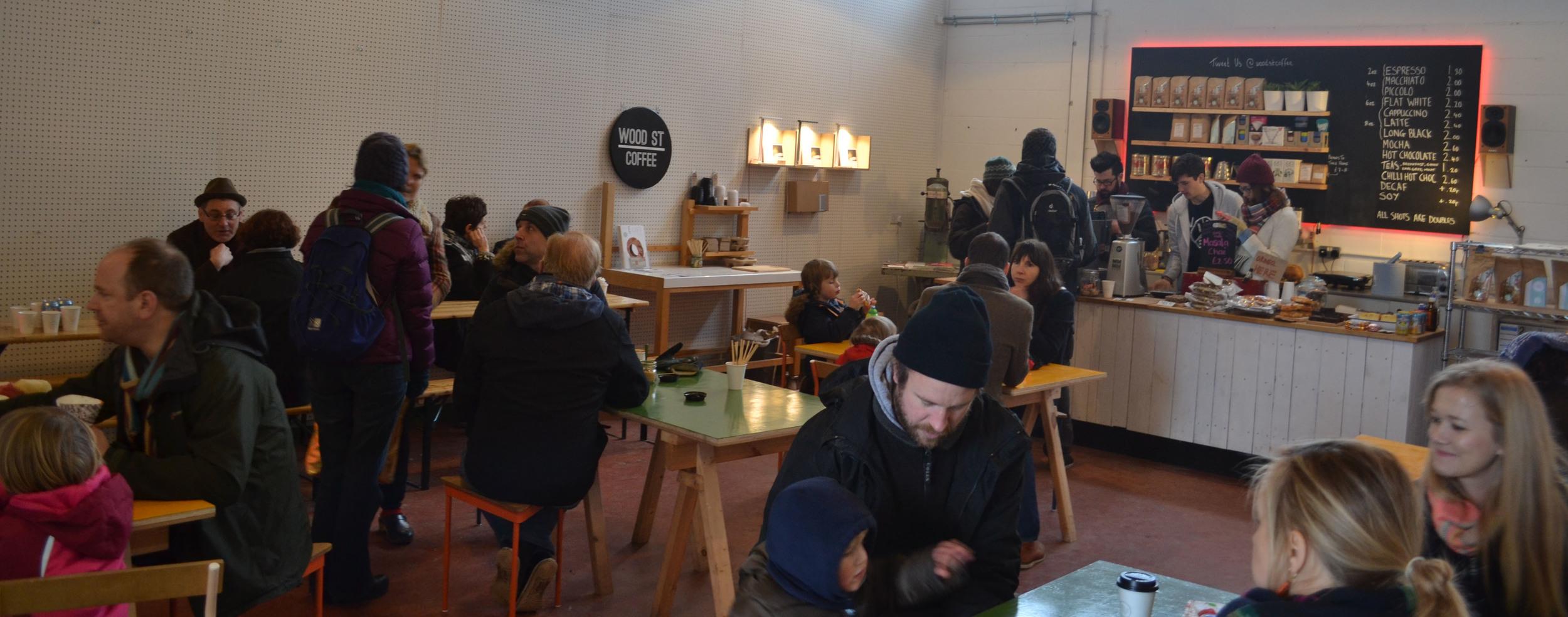 Wood Street Coffee at Blackhorse Workshop