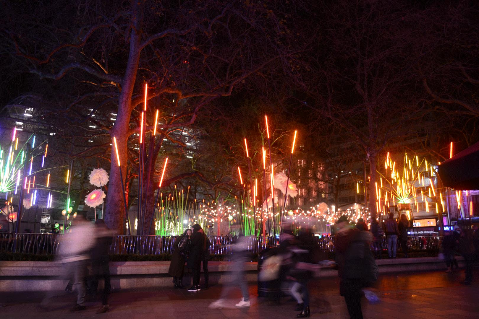 Garden of Light, TILT (Leicester Square)