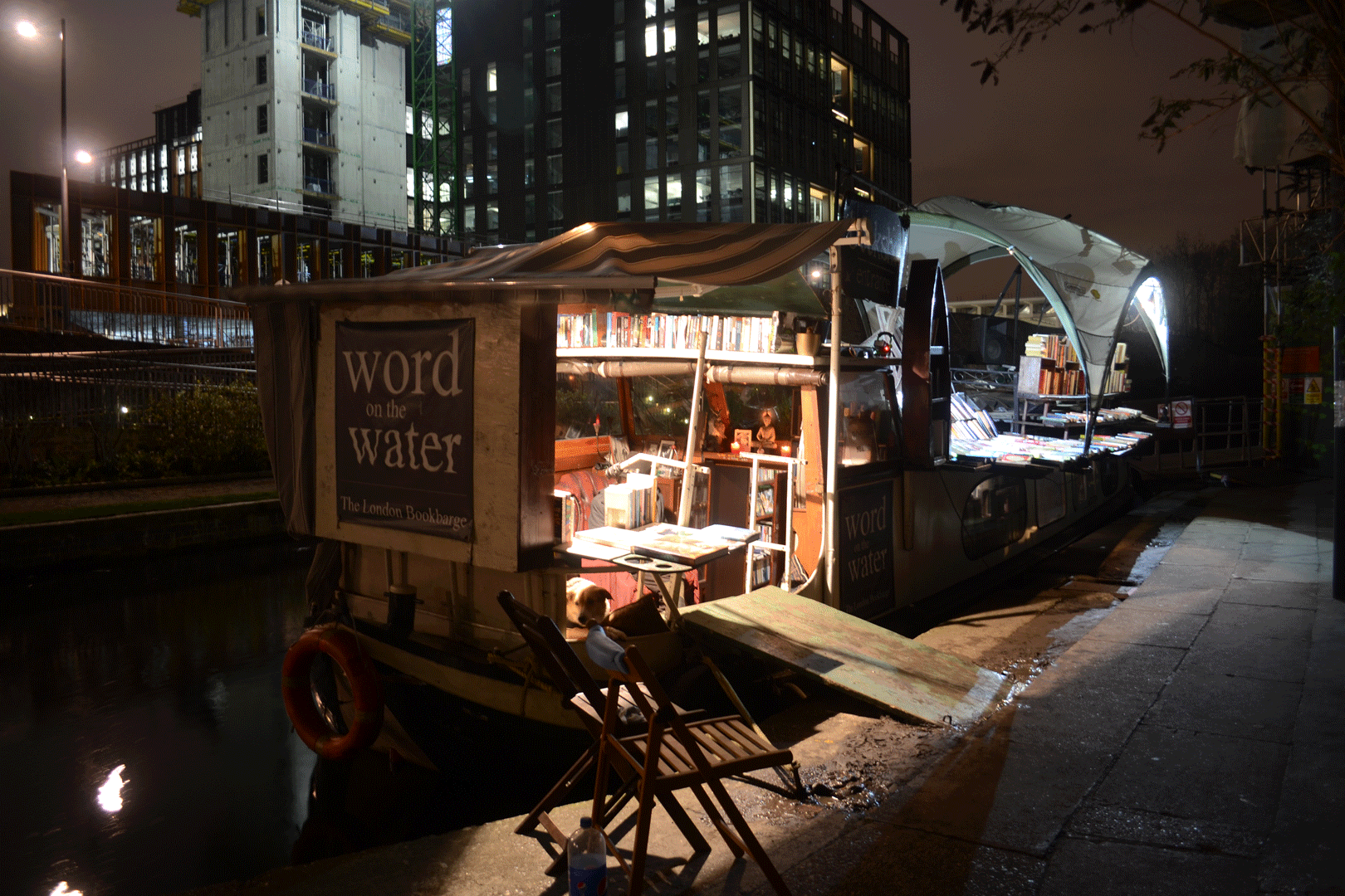 Word On The Water - The London Bookbarge