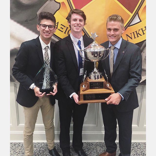 The 2018 Maxwell Award has officially been secured by the Ohio State Gamma Chapter! We couldn't be more proud of our brothers who have represented the chapter in Greek life and beyond, establishing our place as the Top PKT Chapter in the nation!  S/O to our Spring 2018 Class for earning their spot as the Top Associate Class of 2018 in the Nation!  #PhiKappaTau