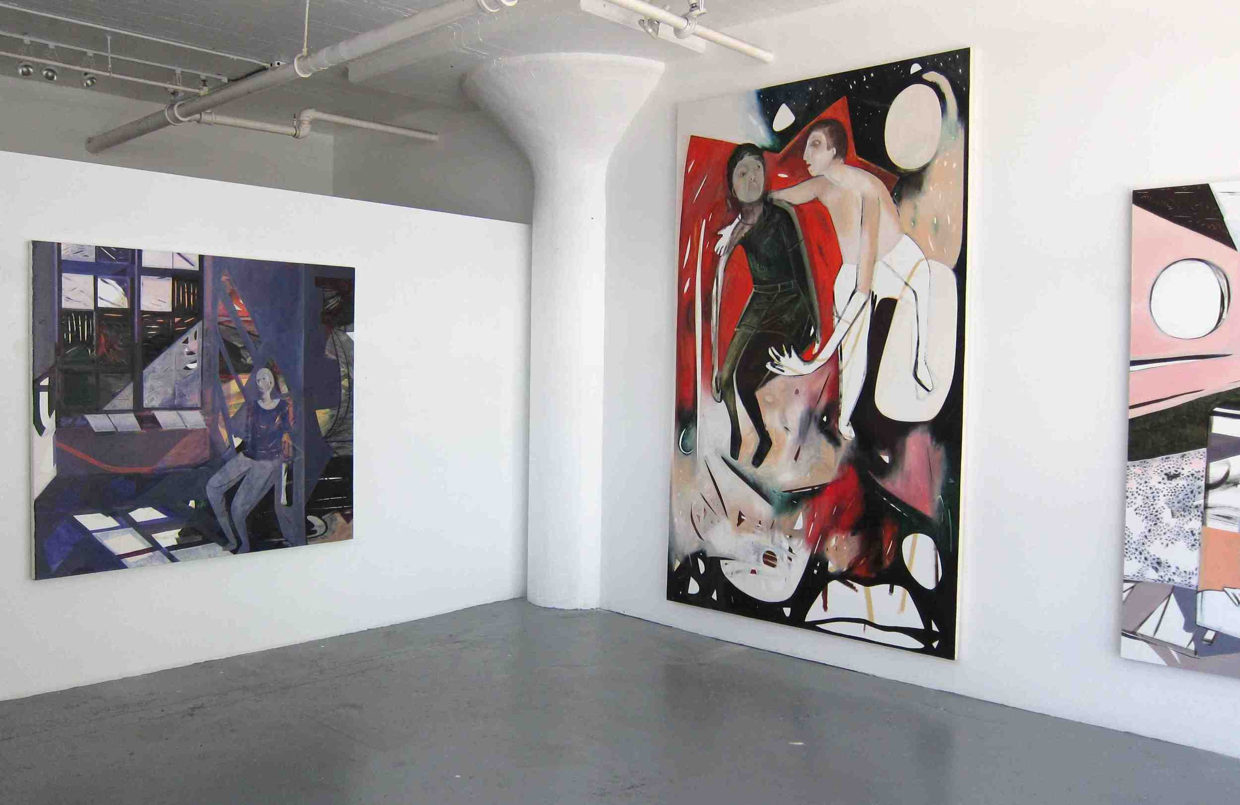 Solo Exhibition at  Yace Gallery ,  Jaqueline Cedar: Realm of Interaction , 2012