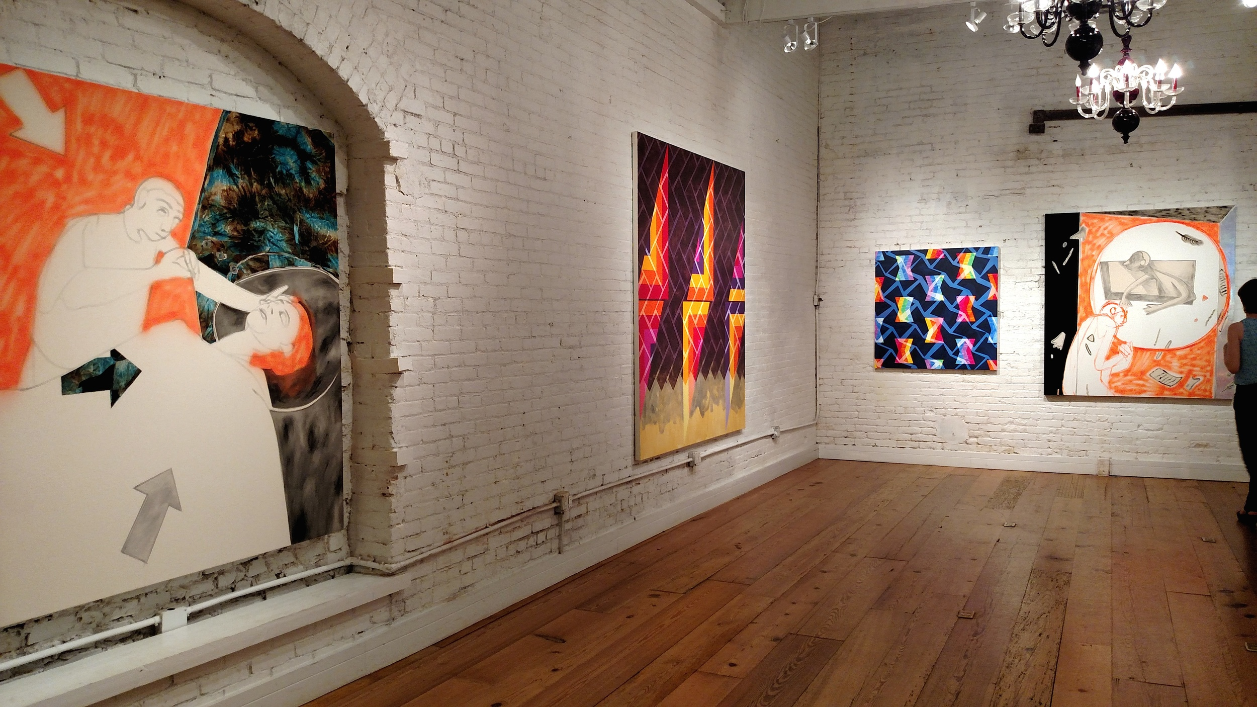 Brian Morris Gallery and Buddy Warren Inc. ,  To the Edge , 2015