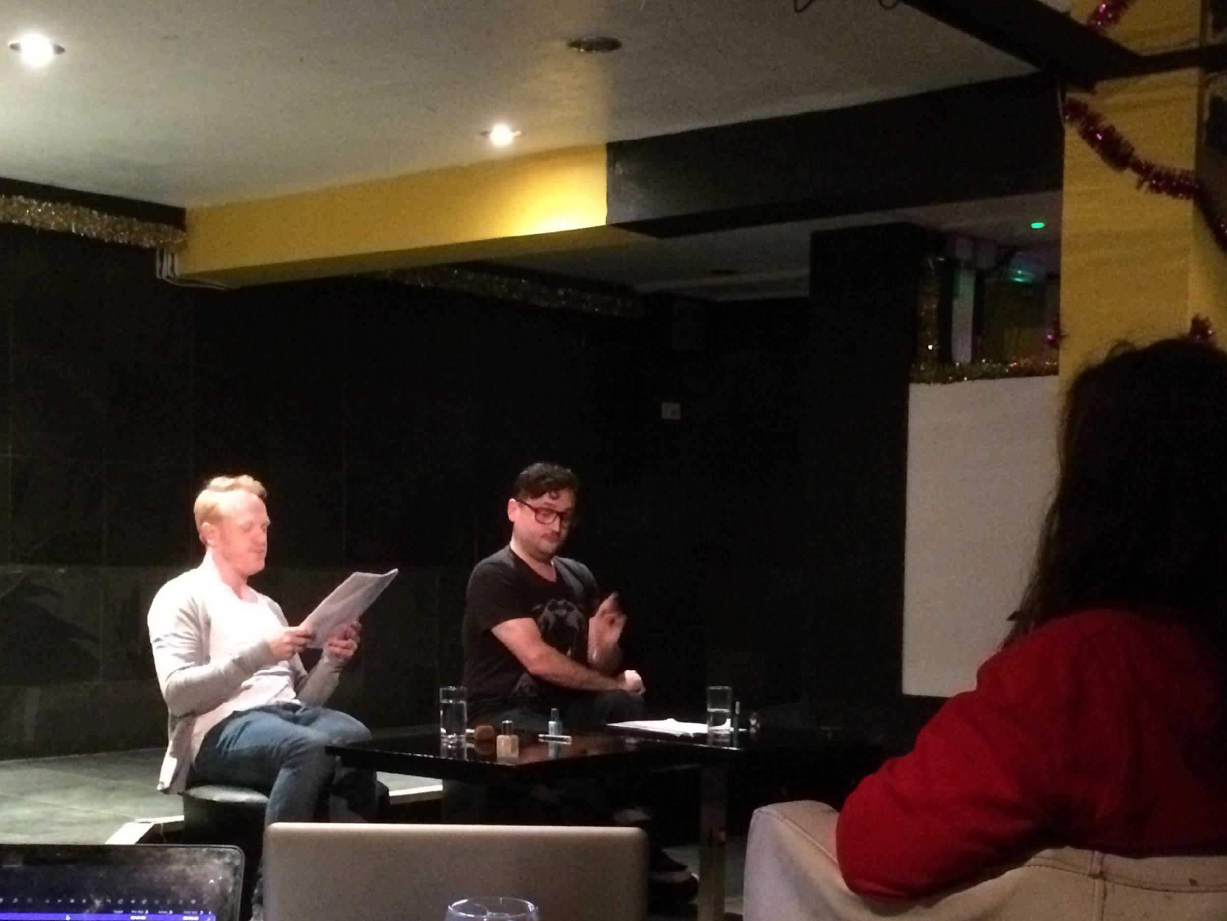 Owain Rhys Davies & Lee Mengo