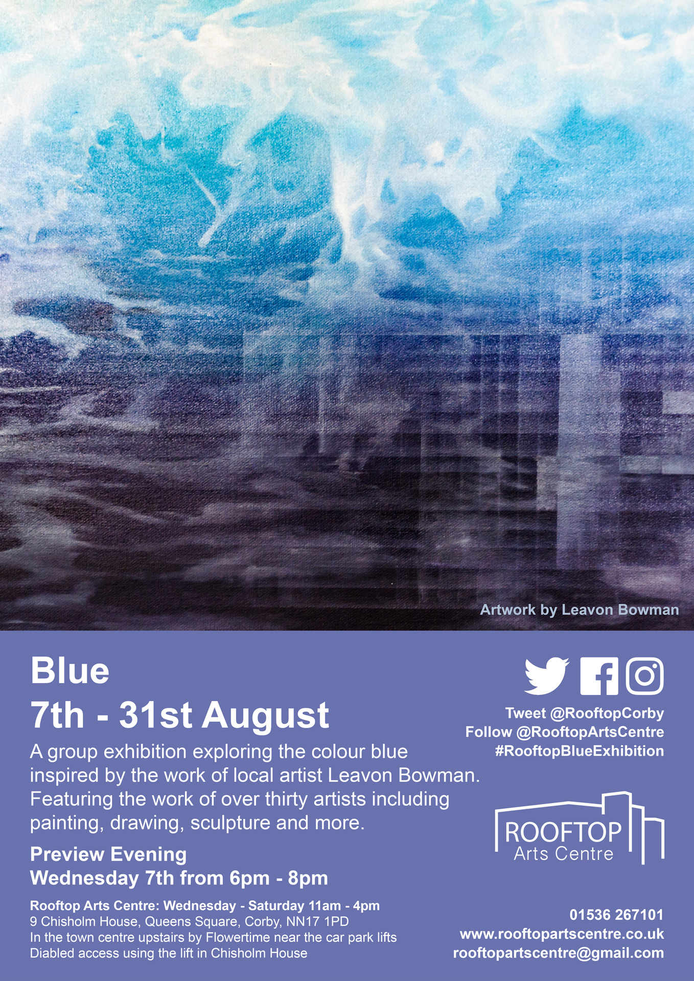 - Blue Collective ExhibitionCorby, United Kingdom7 August - 31 August 2019
