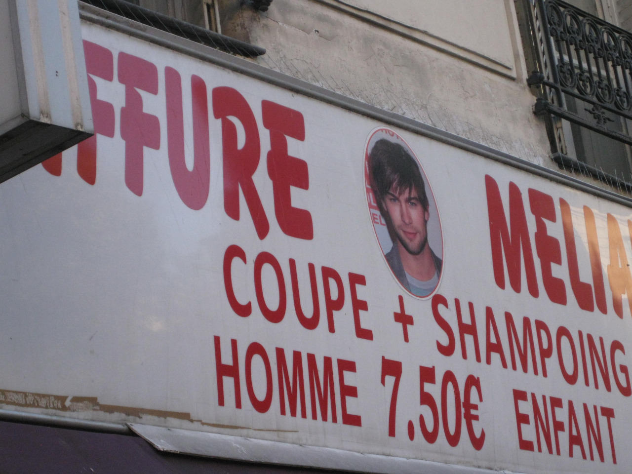 Cool haircuts in France.
