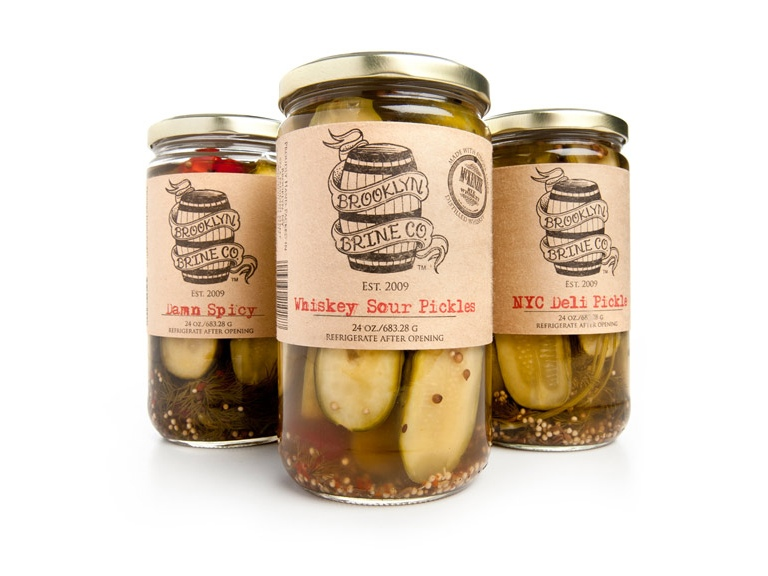 I'm really into artisan pickles right now.