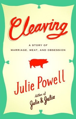 """jordanreid :     I've been awaiting the new book by Julie Powell, author of   Julie & Julia  , with bated breath, so when an advance copy of   Cleaving   landed on my doorstop, I was pretty ecstatic. I harbor a not-so-secret fascination with butchery, and have been begging  The Brooklyn Kitchen  to let me into their always-full  pig butchering class  (WARNING: graphic content after link) for months now, and I imagined that the book would be full of interesting tips interspersed with quick-witted storytelling, much like Powell's previous effort.   To my immense dismay, this was not the case. Powell's foray into butchery is a heavy-handed metaphor for the destruction of her marriage as a result of her affair with a man called only """"D."""" The segments on butchery were overly detailed even for me - and I'm fascinated with the topic, so I can only imagine how someone less carnivorously-inclined would feel - but it was the rest of the book that really got to me. It made me…well…angry. And perhaps this is because I felt like it was really cruel of Powell to chronicle the intimate details of her affair with another man for all the world to see, especially given that she claims to genuinely love her husband, but I suspect that it's just because I found Powell's obsession with sex surprisingly infantile. I felt like I was reading  Twilight  (boys boys boys boys boys) for the married set…and that's just not what I was hoping for. I found Powell unlikeable and irredeemable, and by the end I just wanted her husband to tell her off and run away with Gisele or something, because frankly, he deserves it for putting up with her for all those years.   Everyone in the world is going to buy this book this Christmas - and hey, it's entertaining enough - but I just want to warn you:  Julie & Julia Part Deux  this is not.     I'm so curious about this book. It's fascinating that the original publication date, which would go along with Julie & Julia the film, was scrapped, partially due to t"""