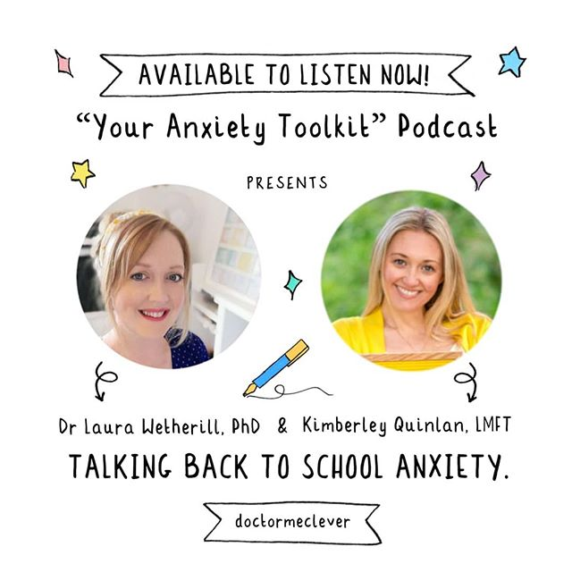 """✨It's here!!! ✨If you're feeling nervous, worried or anxious about heading back to school this podcast 🔊 is dedicated to you ❤️. Recently I had the privilege of speaking to @kimberleyquinlan about back to school anxiety. I suffered from anxiety throughout my education and in this episode I share with you my experience and what I have learnt from it. I hope this episode helps those of you suffering with anxiety feel less alone and that it gives you some pointers to explore, to help you tackle those big emotions. You can catch the episode on any  podcast platform, just search for """"your anxiety toolkit"""". I'll put the link 🔗 in my bio too! Wishing those of you heading back to school in the coming weeks the best of luck!  #Schoollife #backtoschool #back2school #gcses2020 #gcses #alevels #university #college #backtouni #memes #education #friends #anxiety #MentalHealthAwareness #backtoschoolanxiety #schoolmemes #wayV #studentlife #goingback #goback #backtoschoolshopping #edchat #iteachtoo #teachersofig #Biologyteacher #anxiety #worried #nervous #gcsebiology"""