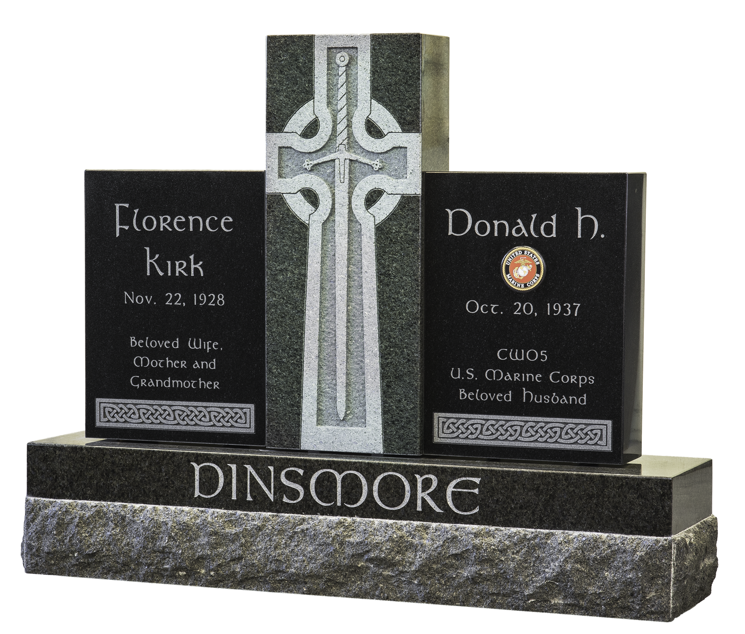 Dinsmore Monument.png
