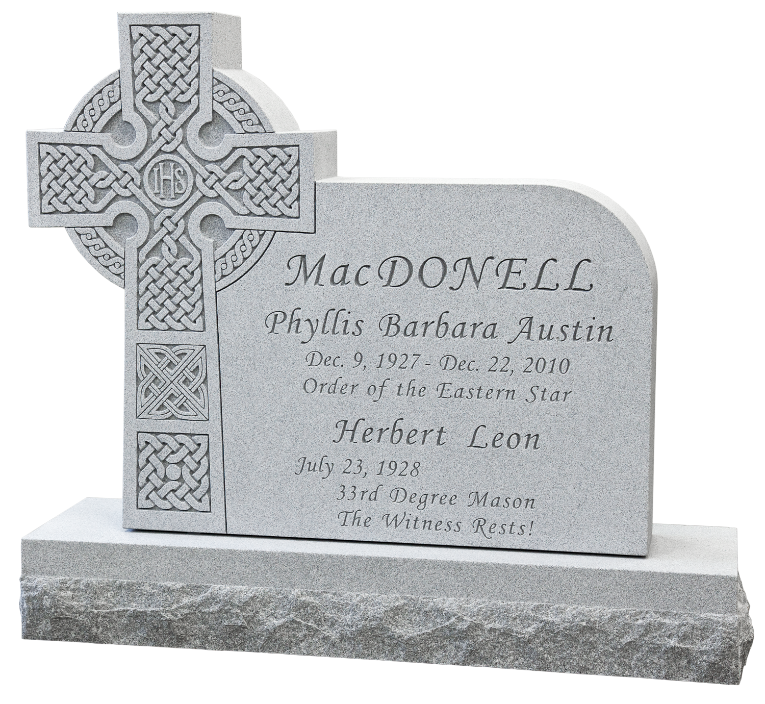 MacDonnell, Herb - Monument.png