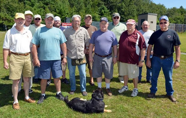 just a small handful of Springfield Sportsman's Club Members
