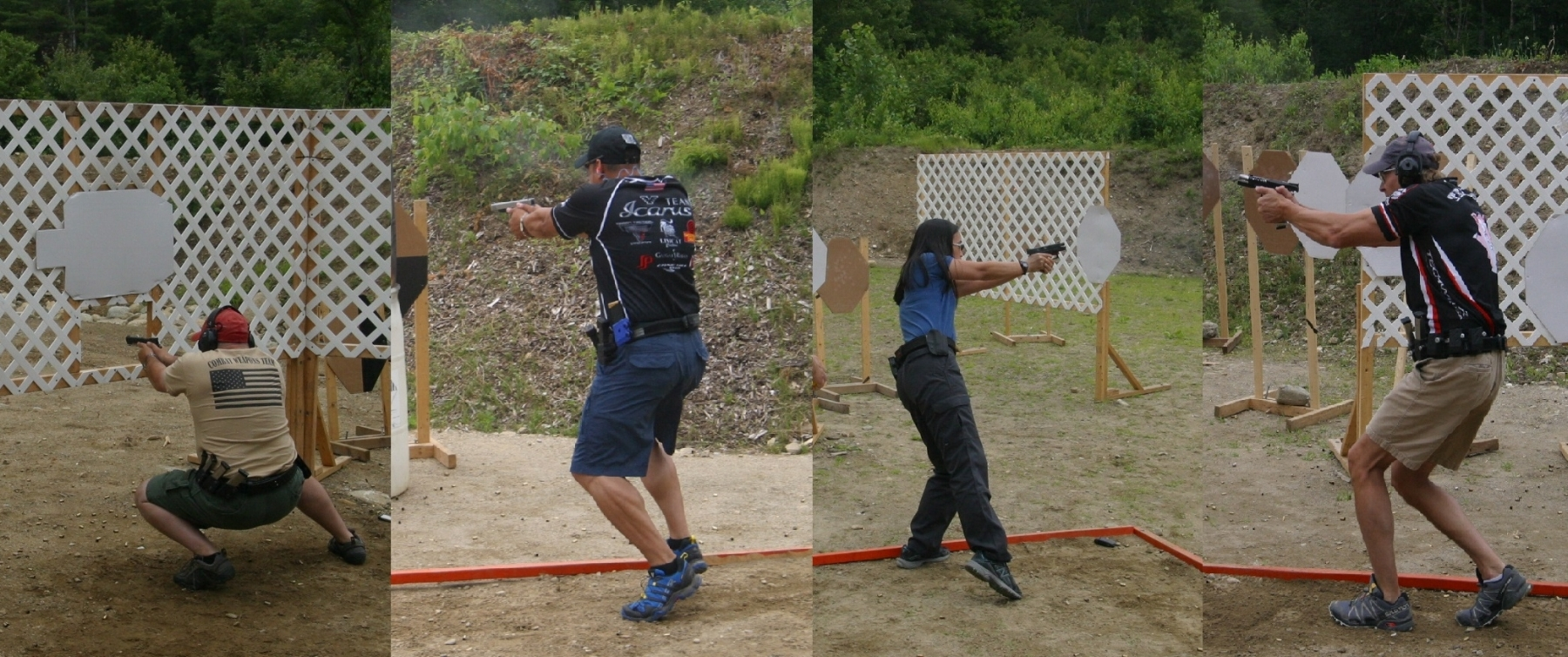 a few mass classic 2015 shooters in action during the match