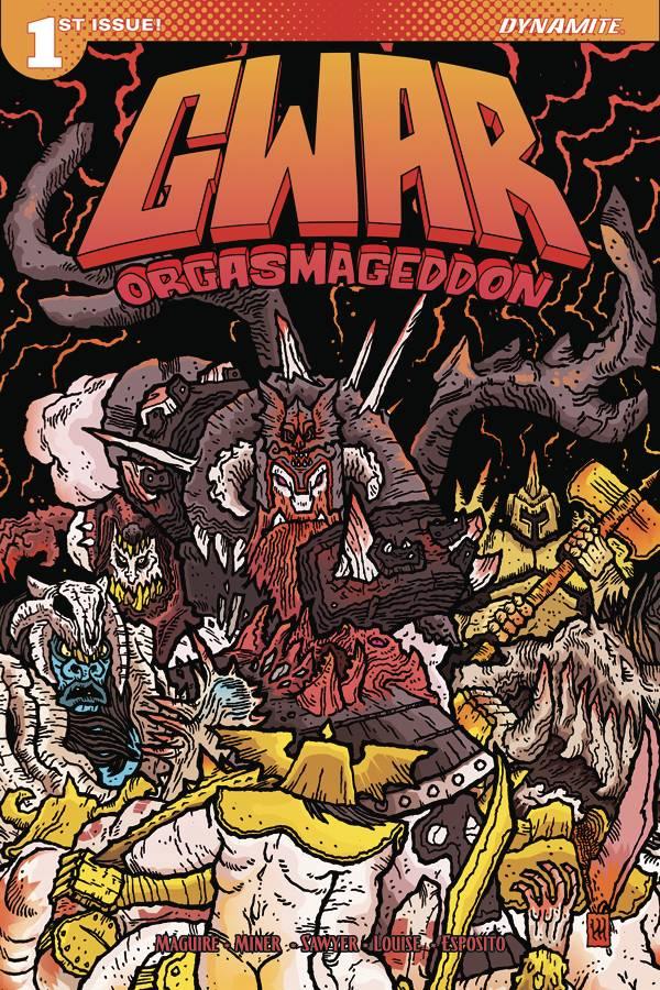 Writer: Matt Maguire AKA Sawborg Destructo, Matt Miner  Art: Jonathan Brandon Sawyer  Cover Art:  Scott Wygmans