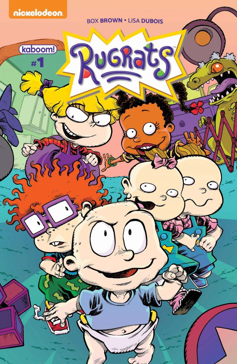 Hang on to your diapies, babies! BOOM! Studios has teamed up with Nickelodeon to create an awesome new comic based on the hit 90s cartoon Rugrats! Written by Ignatz Award winner Box Brown and artist  Lisa DuBois , they'll be bringing us brand new stories featuring Tommy, Chucky, Phil, and Lil!   Artist Lisa DuBois will be in store at Vault of Midnight Detroit signing copies of Rugrats #1 on October 21st at 4:00pm! Don't miss out on this rare oppertunity to revisit your childhood heroes!  This event is completely free and will immediately follow our Girl Scouts Comics Party event across the street from the shop. Vault of Midnight Detroit validates parking in the Z Park for two hours.