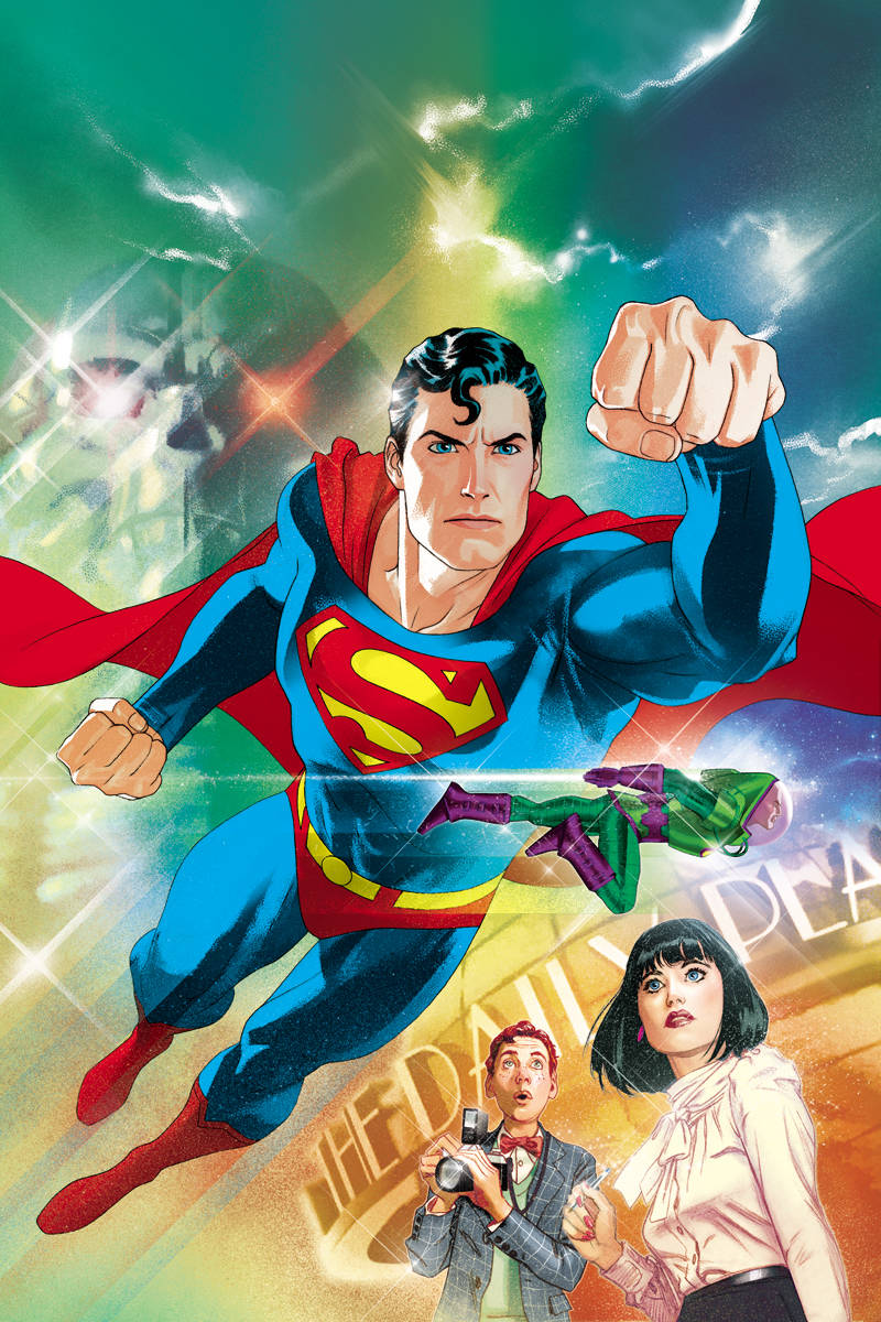 ACTION COMICS #1000 1980s variant cover featuring art by Joshua Middleton