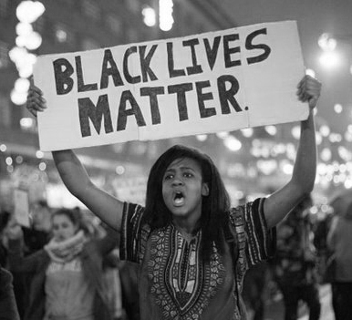 "Shouting ""All Lives Matter"" is an attempt to erase the historical and current institutionalized white supremacy that leaves black people dead in the street every single day. It's an attempt to escape the responsibility of having to examine the climate that has given rise to a need for #BlackLivesMatter, and all other such movements..."