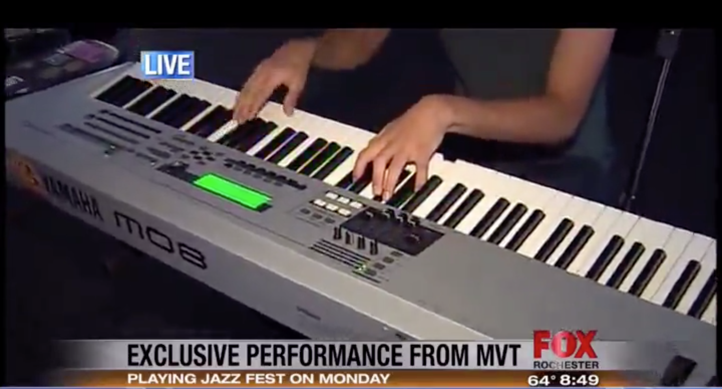 MVT performs live on Fox Rochester. (click for video)