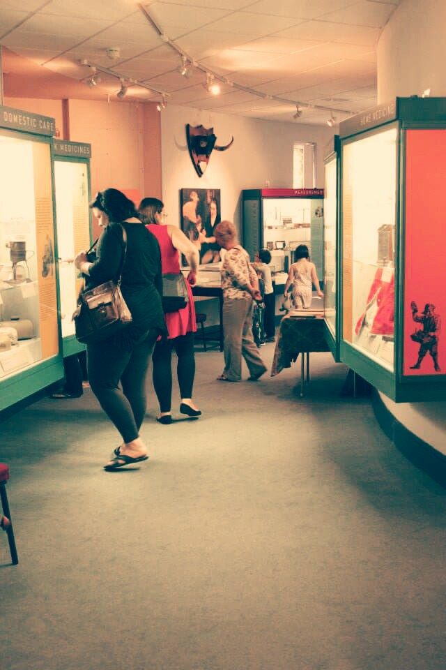 Tours in the George Marshall Medical Museum