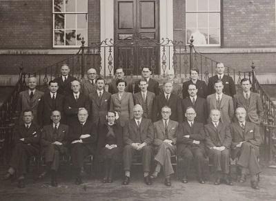 Final meeting of Worcester Royal Infirmary General Committee, December 1948 in Berrows Journal.©Charles Hastings Education Centre