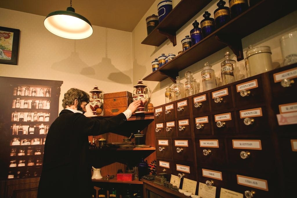 The Apothecary shop at George Marshall Medical Museum