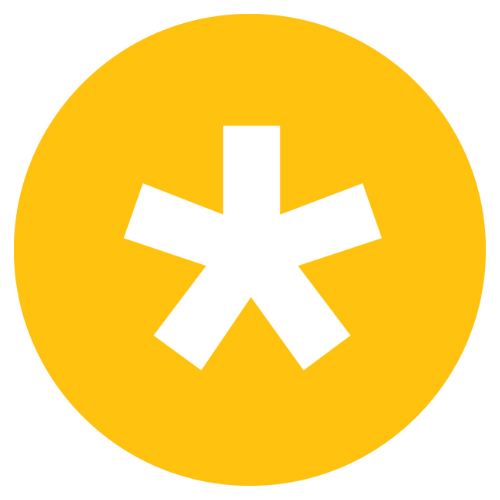AP symbol yellow