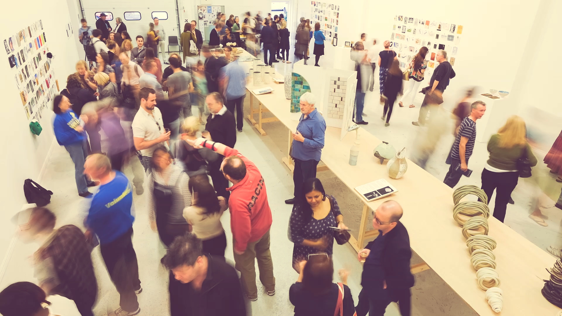 Opening night, May 2014, no format Gallery