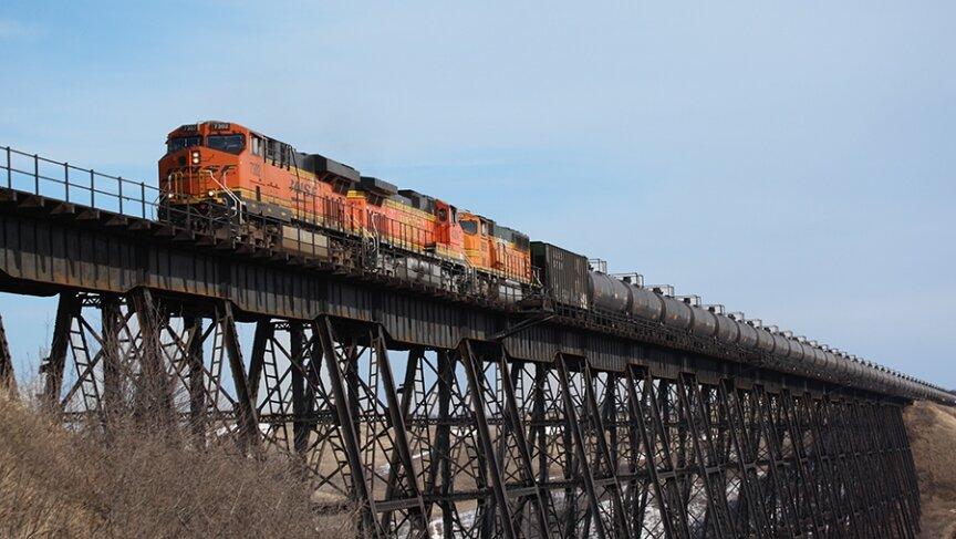BNSF train on trestle.jpg