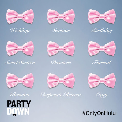 Hulu Social Content - fan content for the launch of 'Party Down' on Hulu.