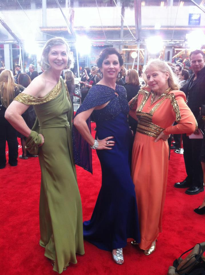 Gorgeous vintage style by Theresa LaQuey on the Red Carpet!