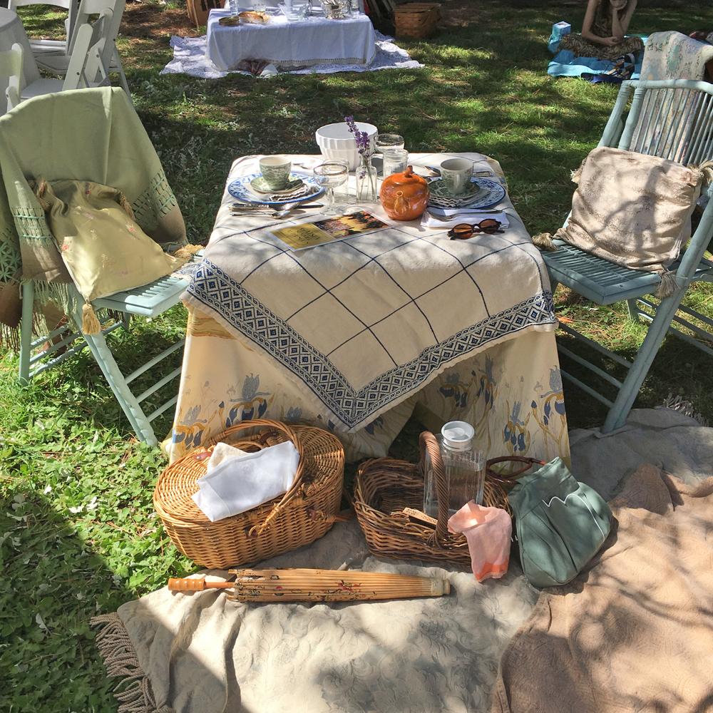 our quaint little picnic