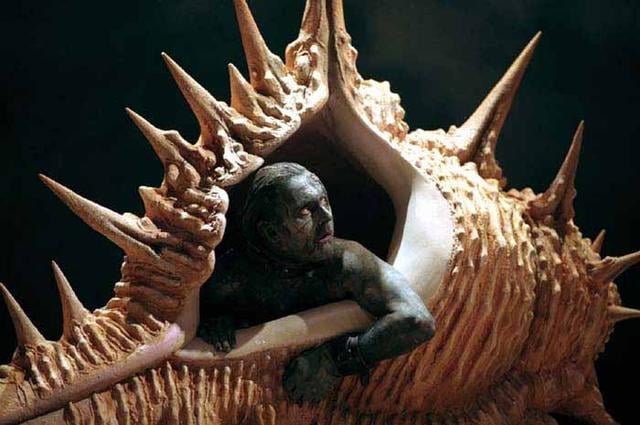 Robert Glenister as Caliban, in Royal Shakespeare Company's 1998 production -- the first Shakespearean production I ever saw. It was damned glorious.