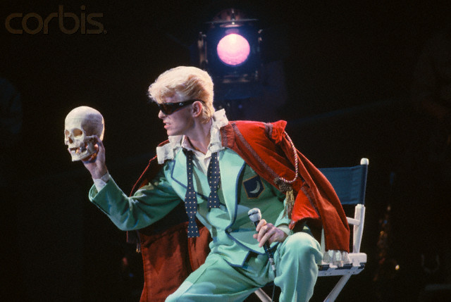 Bowie as Hamlet.  Although Bowie could be anything he damn well pleased.